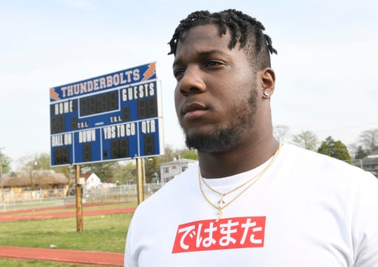 RyQuell Armstead talks to The Daily Journal about lifelong friendships made while playing football for Millville and the upcoming NFL draft.