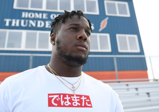 Millville's Ryquell Armstead was selected in the fifth round of the NFL Draft on Saturday.