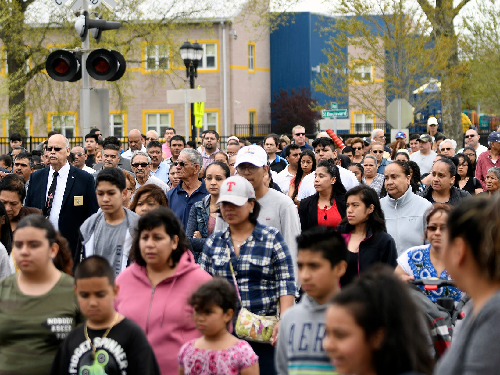 The performance of The Passion of the Christ played out on the streets of Vineland on Good Friday, April 19, 2019. The event was hosted by Divine Mercy Parish.