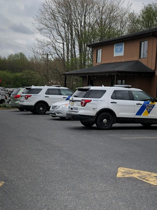 New Jersey State Police are investigating a reported stabbing April 19, 2019 at the Rodeway Inn in Buena, NJ.
