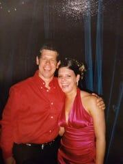 Craig Schneller with his daughter, Breanna.