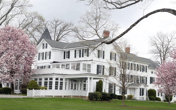 The clubhouse at Waccabuc Country Club  in South Salem April 19,  2019. There is proposed legislation that could significantly raise the taxes of golf and country clubs in New York State.