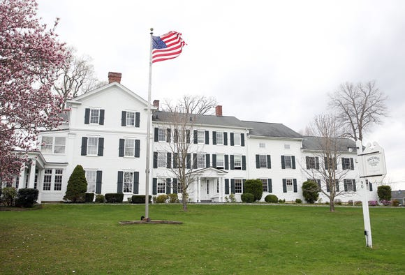 The clubhouse at Waccabuc Country Club on Mead Street in South Salem April 19,  2019. There is proposed legislation that could significantly raise the taxes of golf and country clubs in New York State.