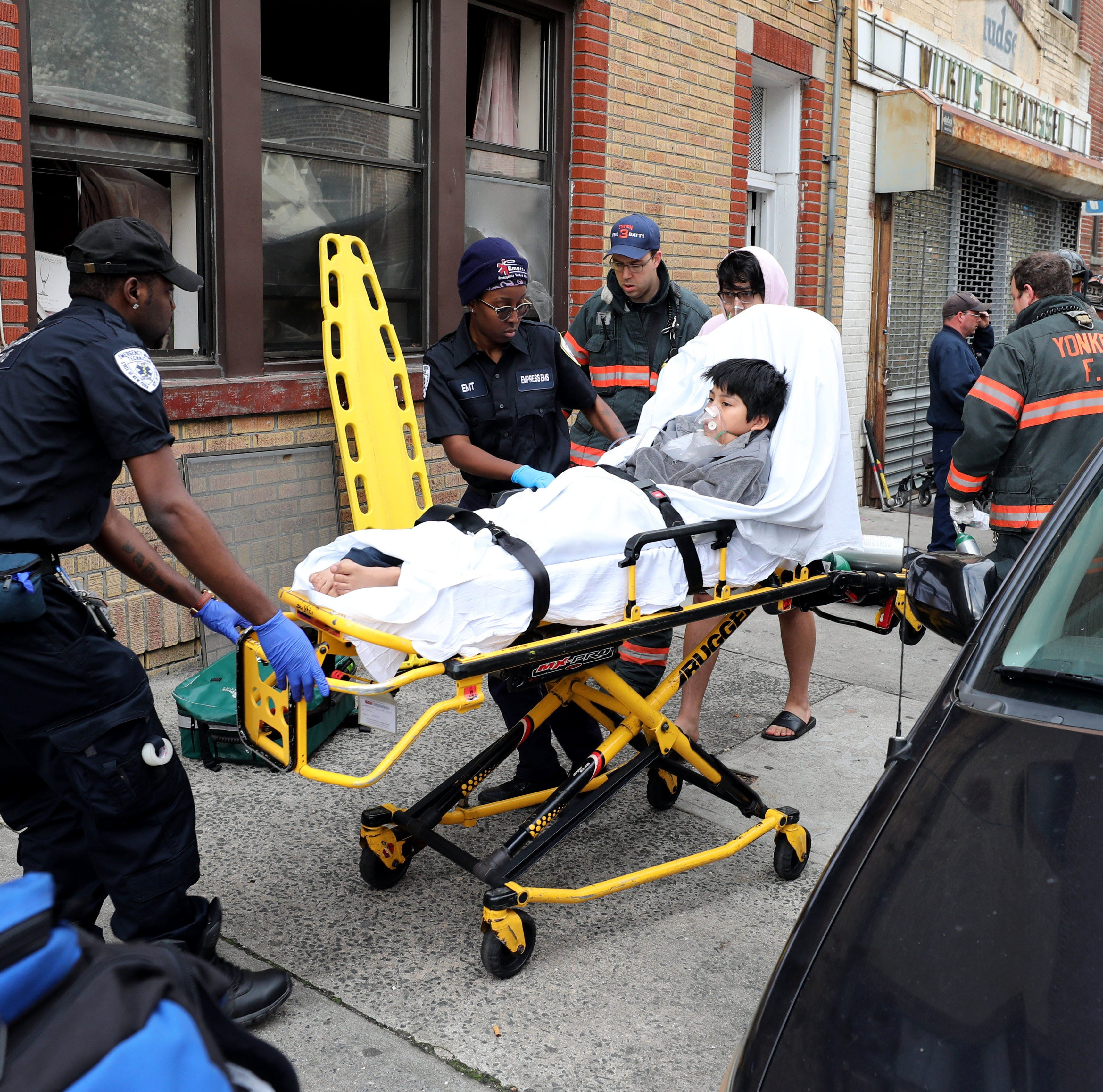 Carbon monoxide sickens 11 people in Yonkers