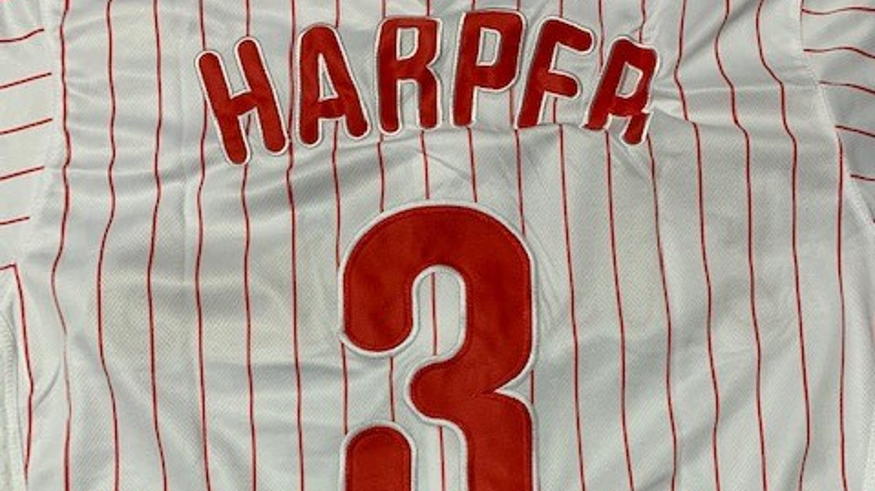 quality design b5d11 a26eb More than 300 fake Bryce Harper jerseys seized at Port of ...