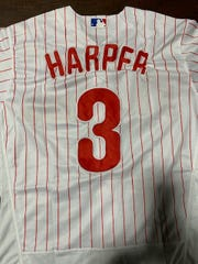 Since Major League Baseball's opening day, U.S. Customs and Border Protection officers in Philadelphia have seized 314 counterfeit Harper jerseys.