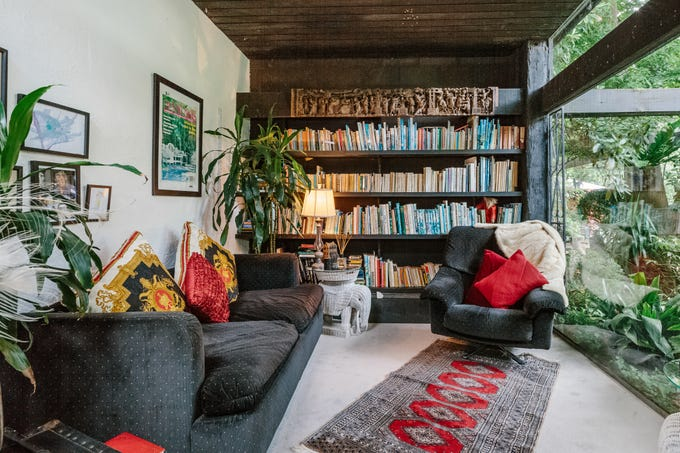 Celebrate World Book Day and plan a vacation around one of these book-filled Airbnbs