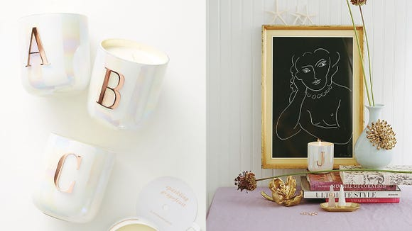 A great smelling candle and decor all in one.