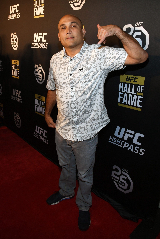 UFC Hall of Famer B.J. Penn accused of threatening farmer with machete