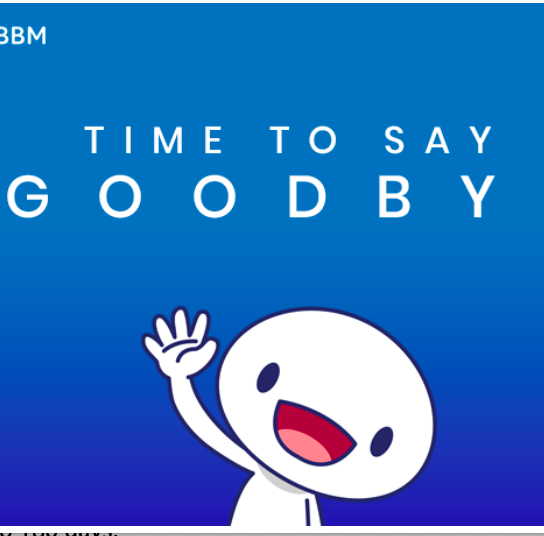 The BBM blog announces that the consumer version of BlackBerry Messenger will be shut down May 31.
