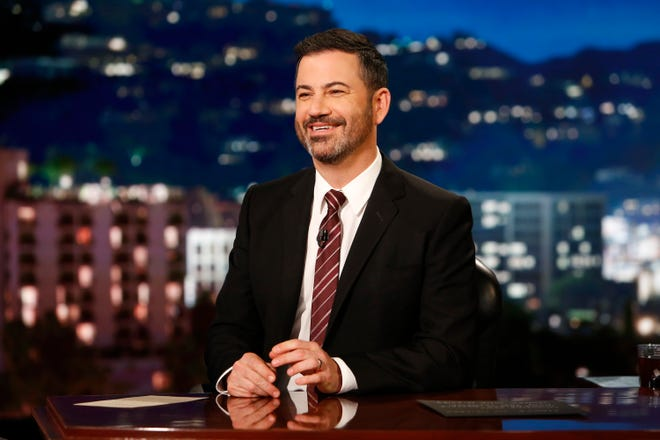"Jimmy Kimmel is the host of ABC's ""Jimmy Kimmel Live!,"" which will pay a $395,000 fine for misuse of an emergency-alert warning tone in a settlement with the Federal Communications Commission."