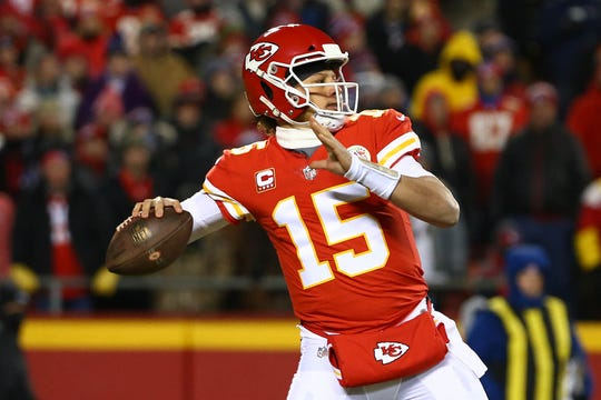 Chiefs quarterback and league MVP Patrick Mahomes will face the Chargers in Mexico City during Week 11 and the Patriots in the AFC title game rematch in Week 14.