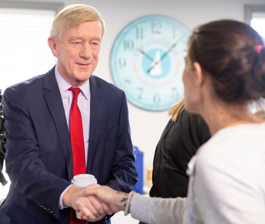 Former Massachusetts Gov. Bill Weld in Concord, N.H., on March 26, 2019.