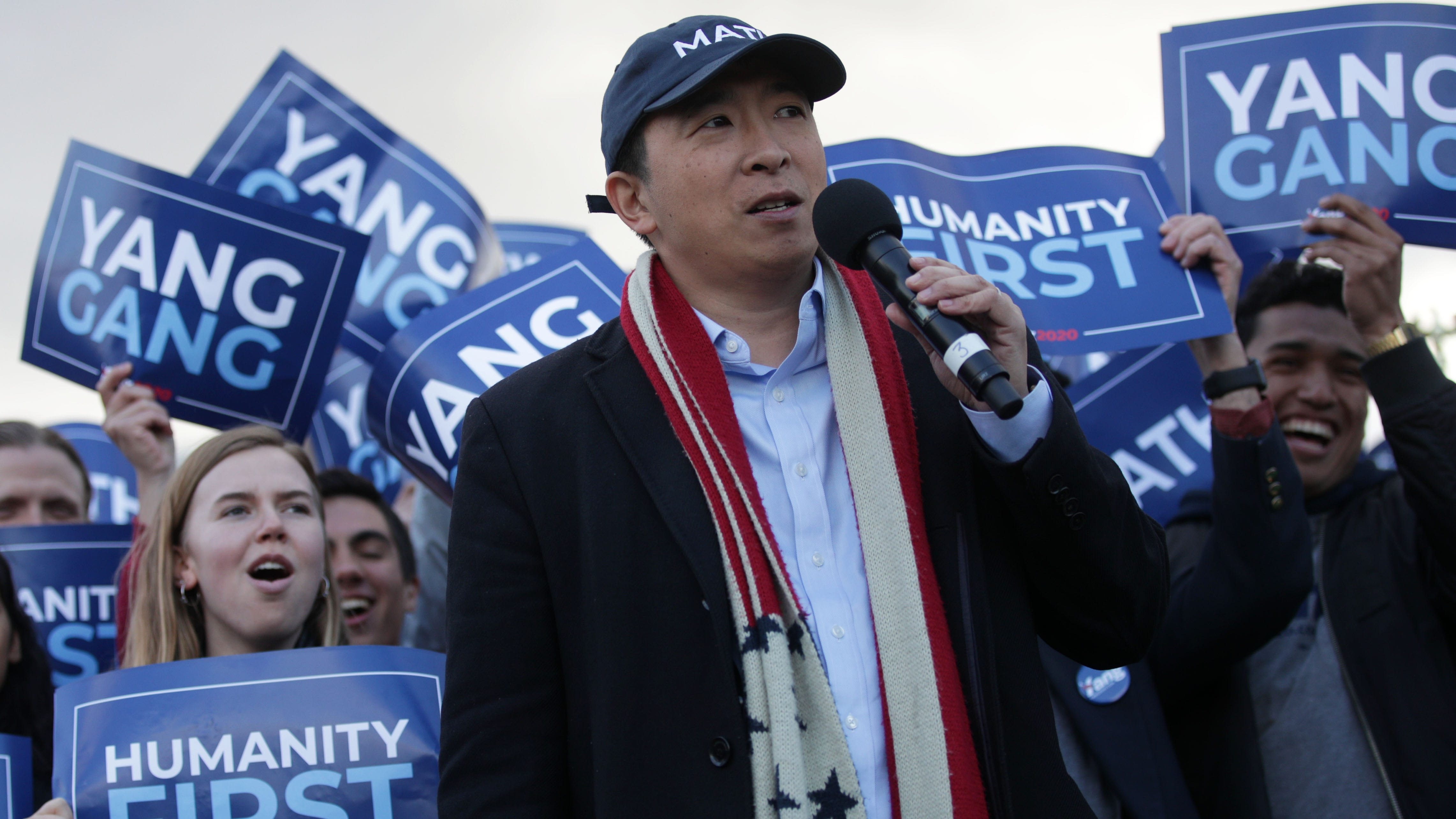Andrew Yang, Marianne Williamson, Bernie Sanders are the 2020 candidates standing out to our readers