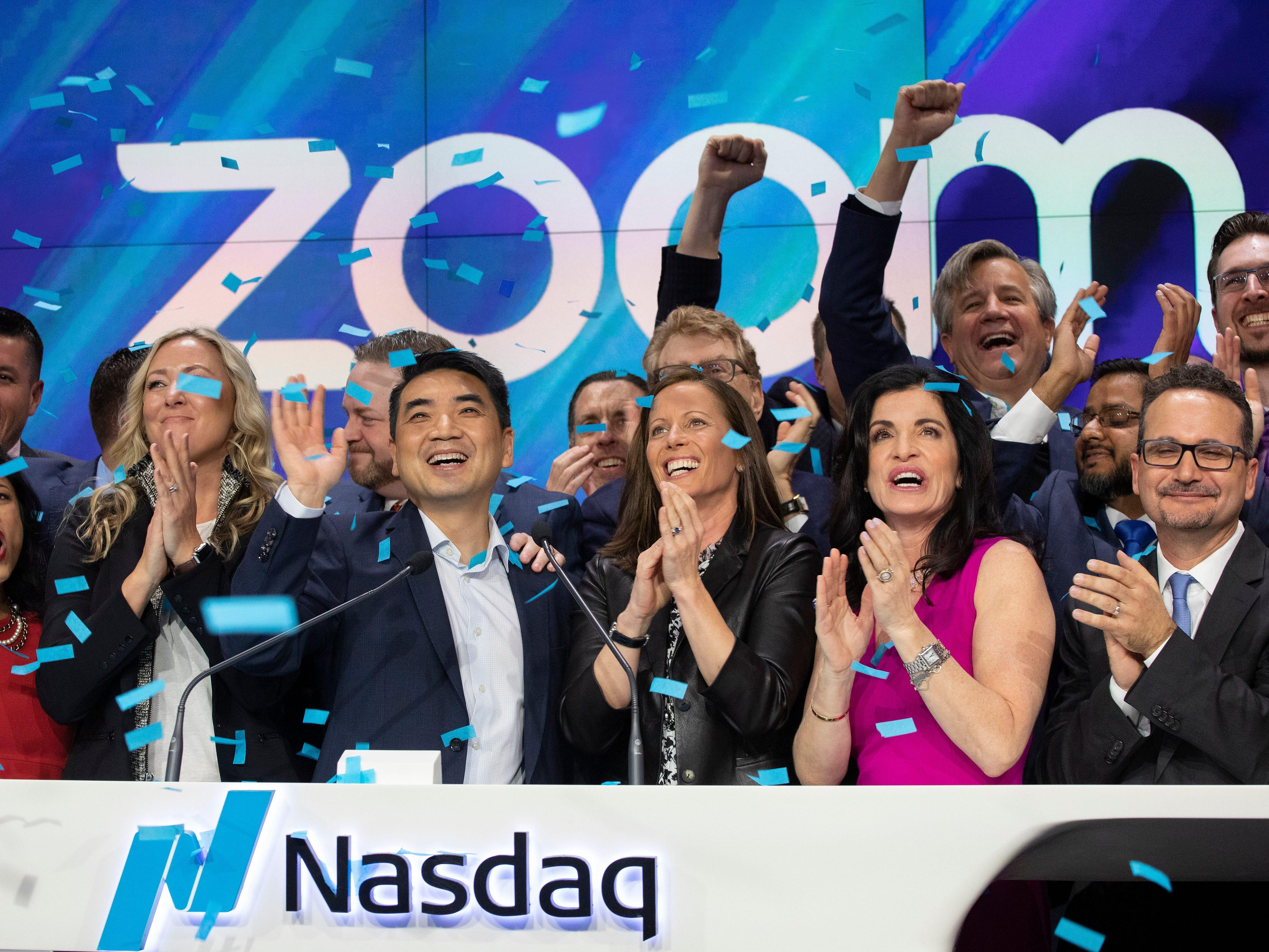 Zoom valued at $16 billion, outpaces Pinterest as both go public