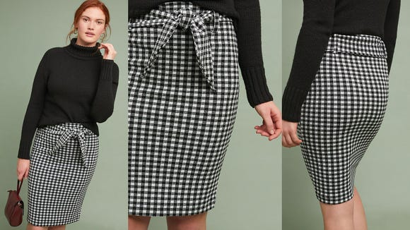 Get in on the gingham trend.