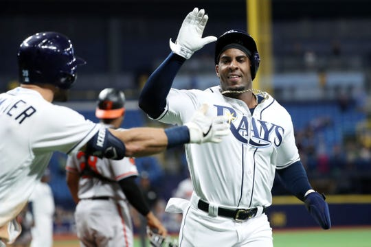 Yandy Diaz was one of the Rays' key offseason additions.