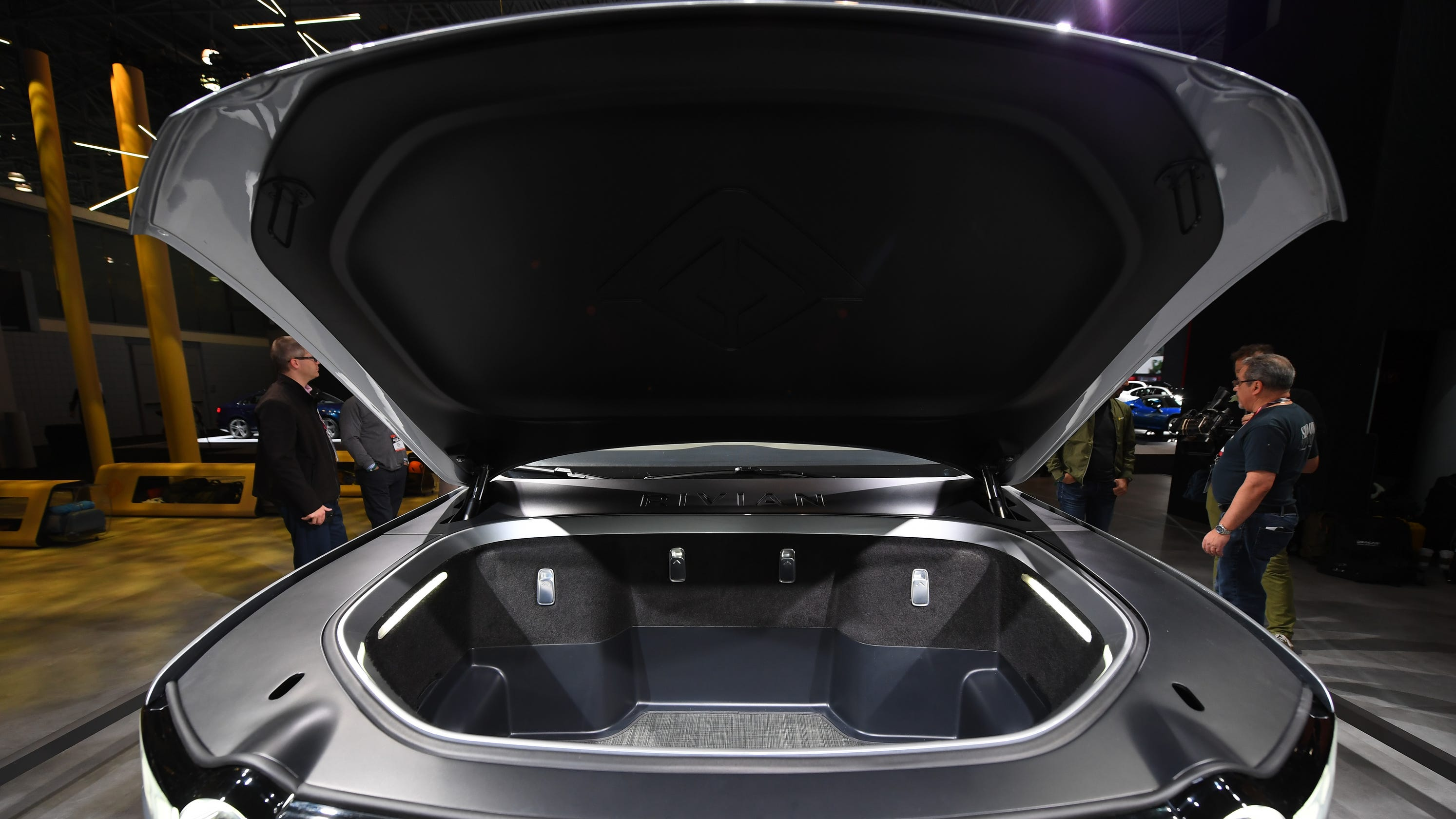 Electric cars like Rivian, Jaguar, Tesla offer new 'frunk