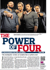 "USA TODAY's 2012 interview with the stars of ""The Avengers."""