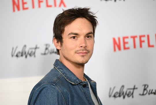 """Tyler Blackburn came out as bisexual in a recent interview with The Advocate, in which he revealed he's ready to """"live my truth and feel okay with experiencing love and experiencing self-love."""""""