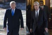President Donald Trump and Robert Mueller