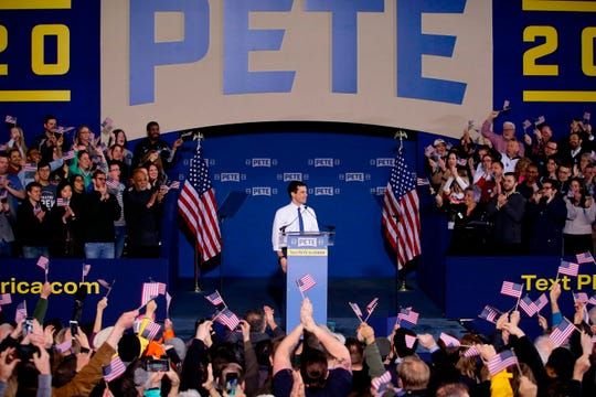South Bend, Indiana, Mayor Pete Buttigieg in South Bend, Indiana, on April 14, 2019.