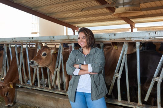 Dairy farmer and nutritionist Rosemarie Burgos-Zimbelman, who has dedicated her life to dairy nutrition.