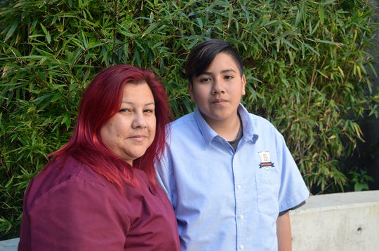 Adrian Mejia and his mother, Saira Diaz, learned healthier eating habits through a study at the University of Southern California and Children's Hospital Los Angeles. He gave up sugary drinks, lost some weight and joined a soccer team. Diaz joined the effort, losing 15 pounds and reducing her blood sugar.