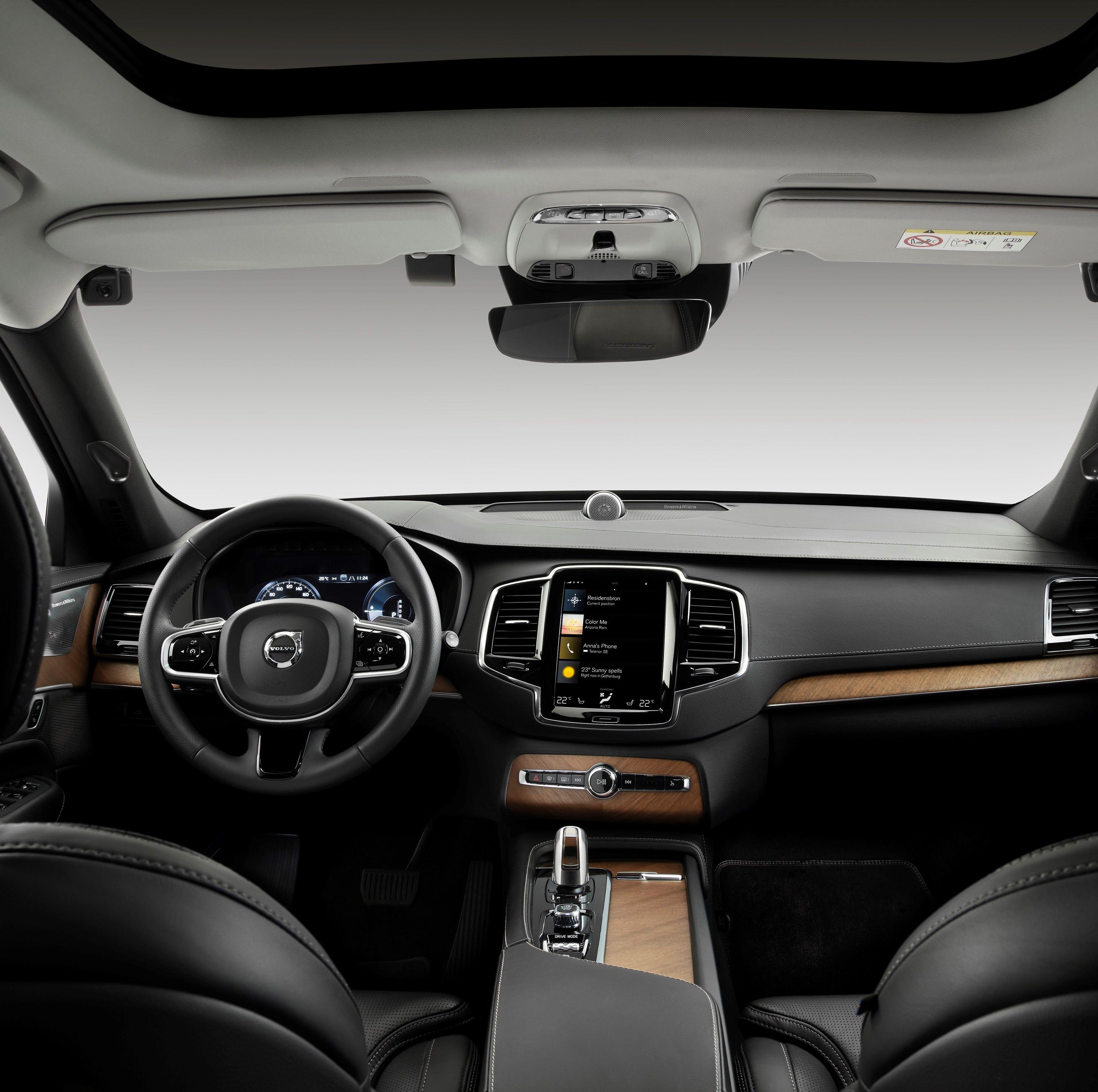 Driver Monitoring Camera in a Volvo research...