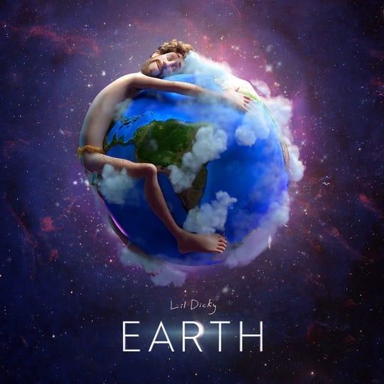 """Lil Dicky released a song and animated music video, """"Earth,"""" as part of an environmental initiative in collaboration with more than 30 other artists."""