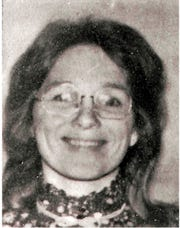 This undated photo provided by the San Luis Obispo County Sheriff's Office shows murder victim Jane Morton Antunez, whose body was found in her car in Atascadero, Calif., on Nov. 18, 1977.
