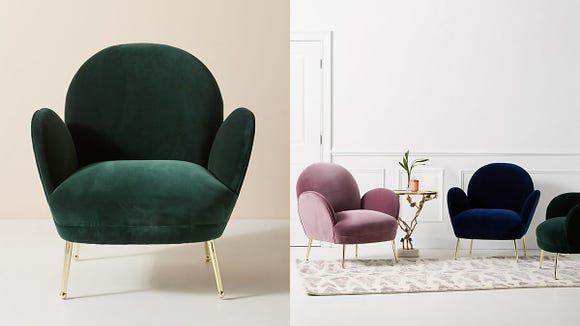 This chair is begging to be sat on in your home.