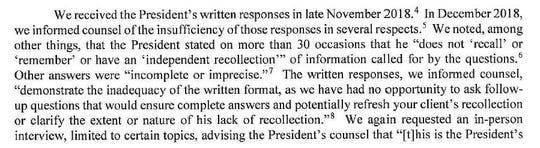 Excerpt from Appendix C-1.
