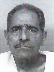 This undated photo provided by the San Luis Obispo County Sheriff's Office shows Arthur Rudy Martinez.