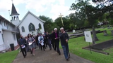 The Episcopal Diocese of Western Louisiana held their second annual Stations of the Cross at Mount Olivet Cemetery in Pineville.