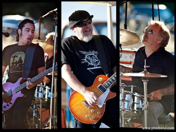 Knucklehead play rock covers April 26 at Our Place Pub and Eatery in Silverdale.