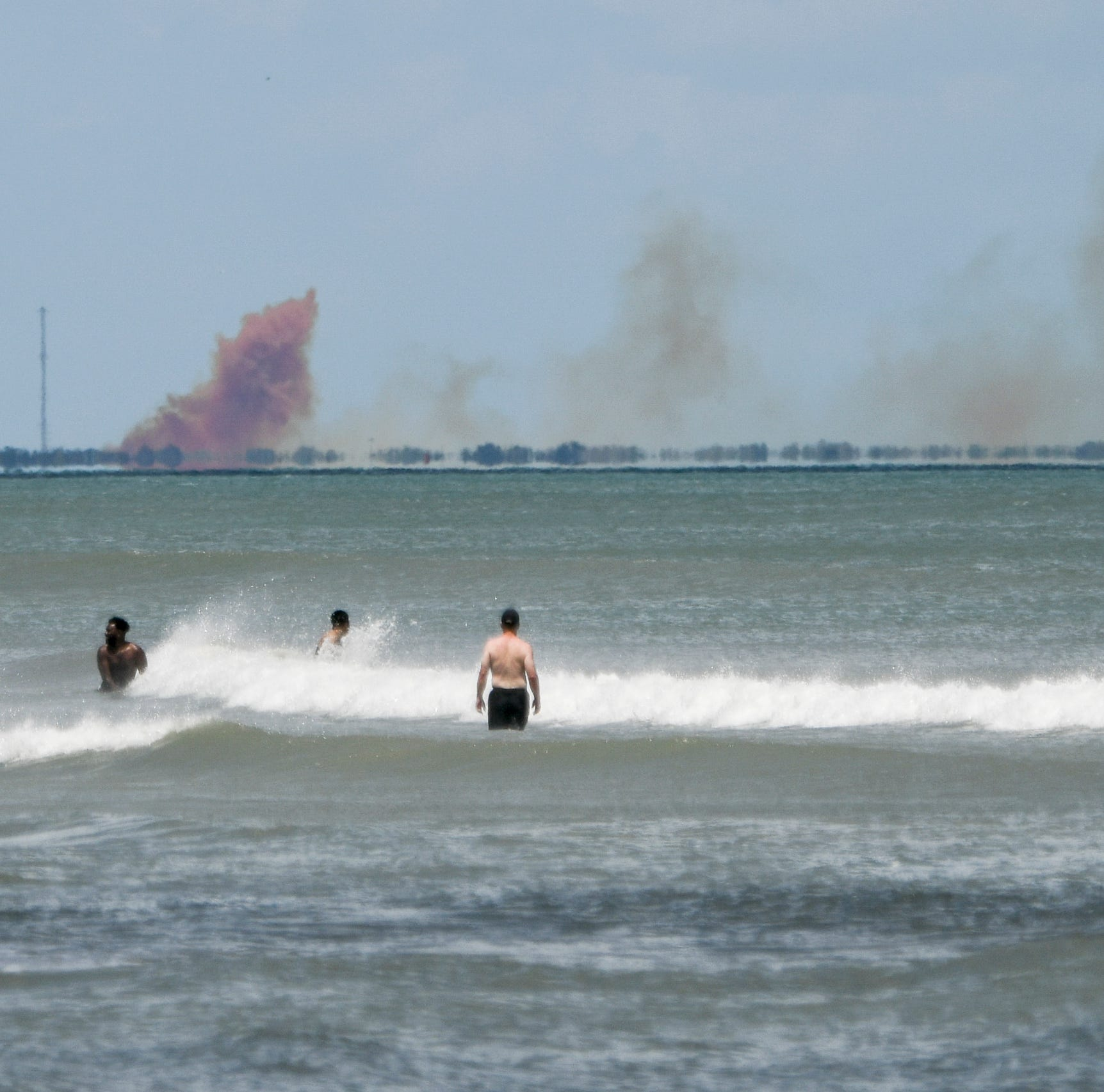 Smoke seen for miles as SpaceX Crew Dragon suffers 'anomaly' at Cape Canaveral during engine test fire