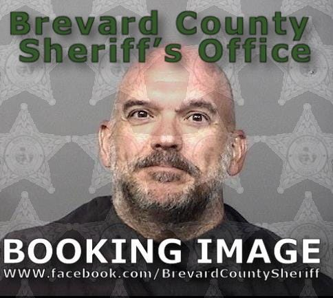 Jonathan Moist, 46, charged with video voyeurism.