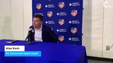 FC Cincinnati head coach Alan Koch discussed the club's 3-0 loss April 19 at Nippert Stadium.