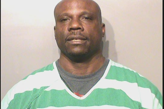 Gerald Michael Evans Jr., 43, was booked Saturday afternoon on four charges, including making a threat of terrorism and intimidation with a dangerous weapon.