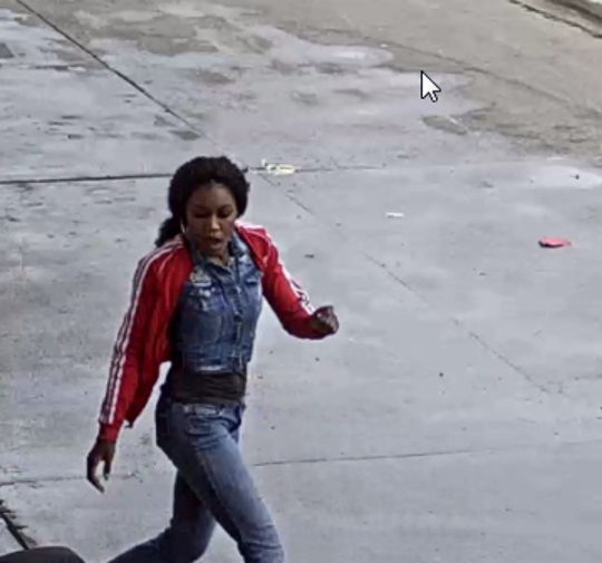 Detroit police are working to find this person of interest after a shooting at a Detroit gas station the east side, Friday, April 19, 2019.