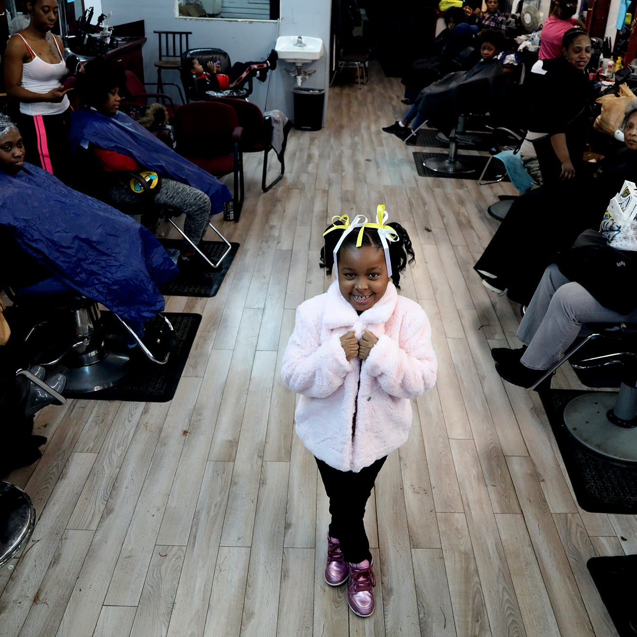 Before Easter: A look inside Detroit barber shops and salons