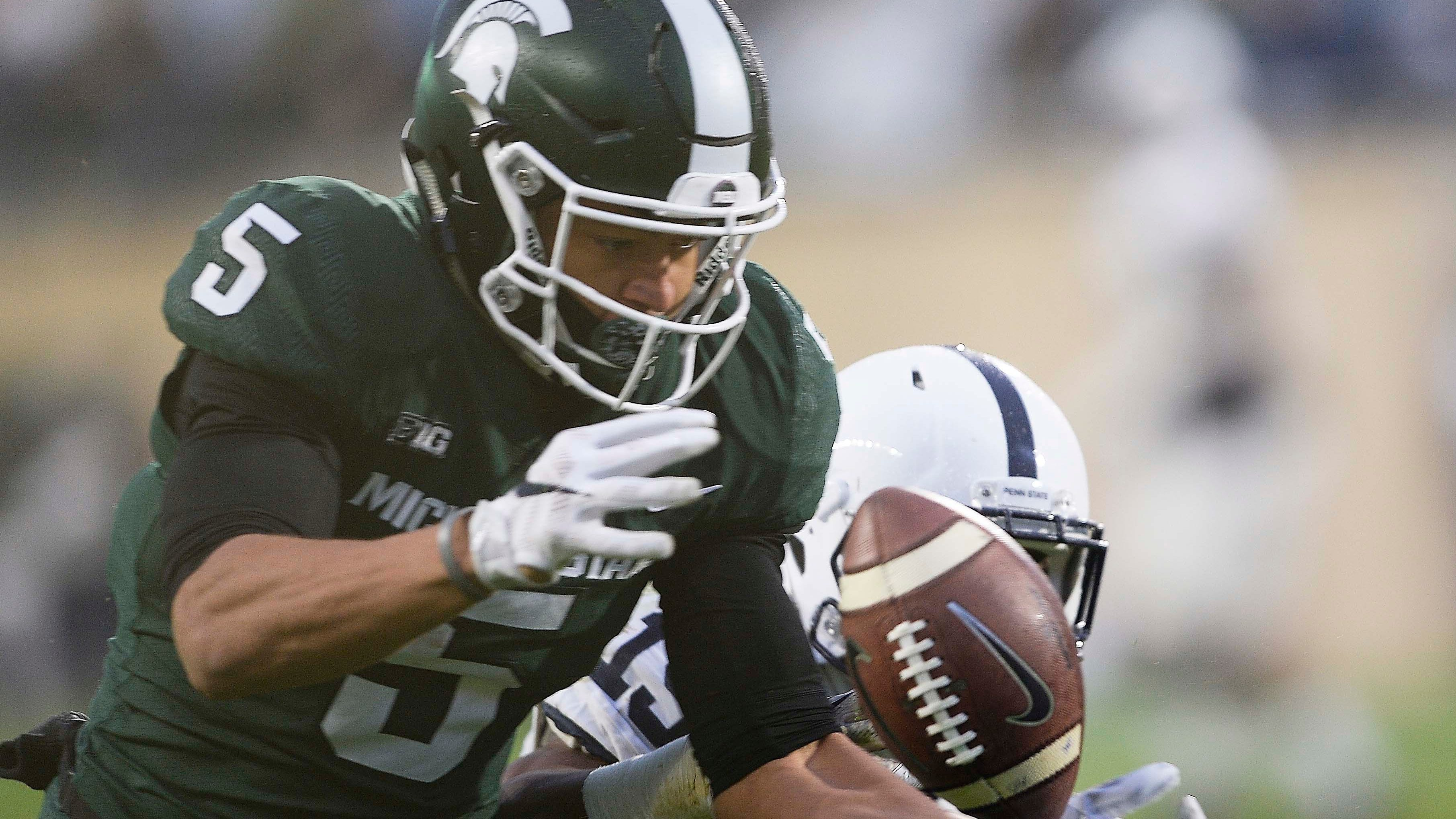 Hunter Rison, former Michigan State receiver, suspended indefinitely at Kansas State