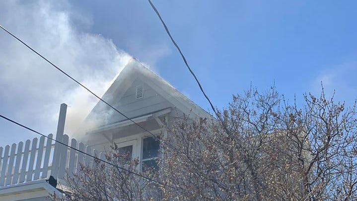 Saturday afternoon fire damages bedroom in Star Street house; no one injured