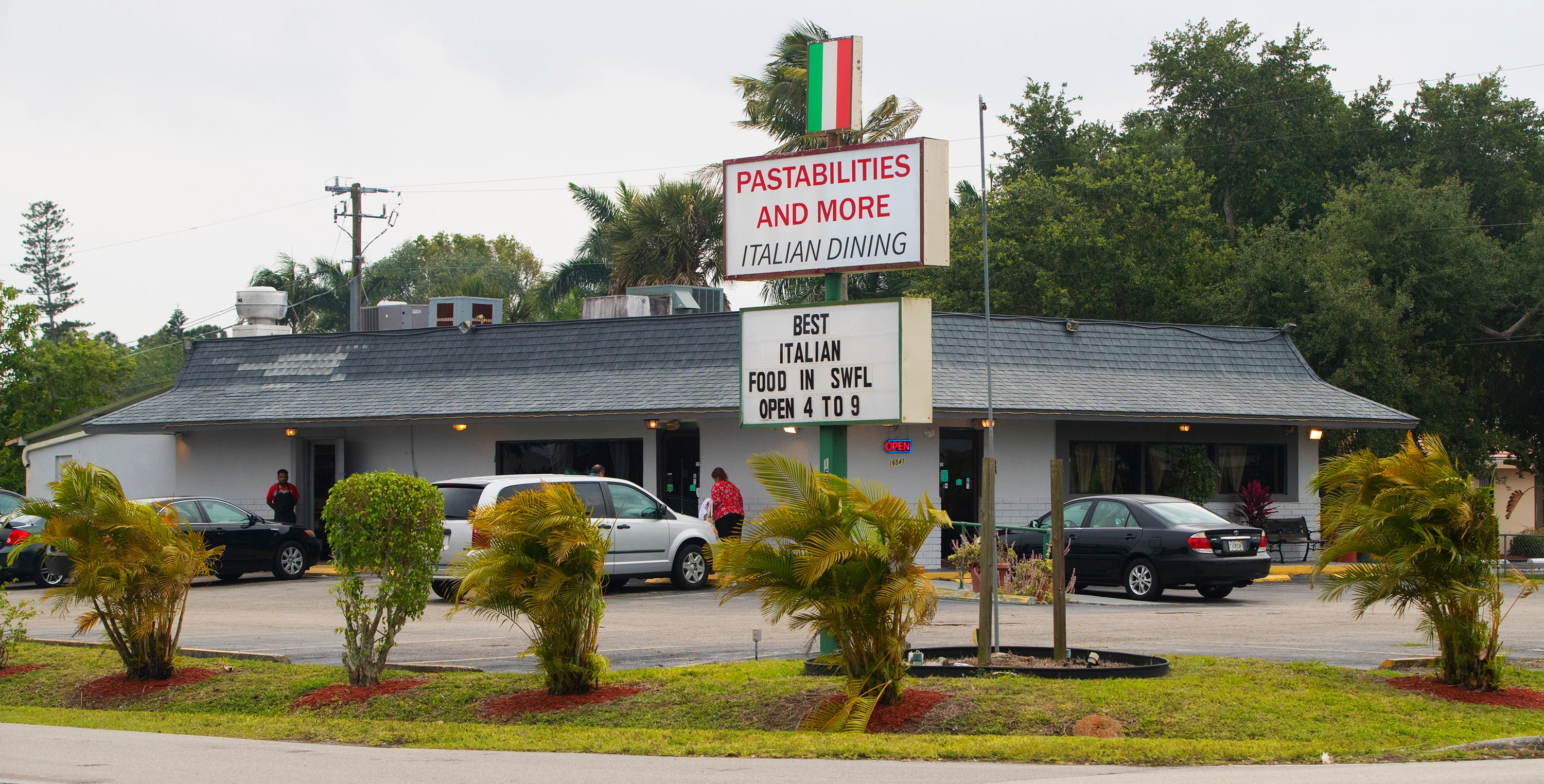 Pastabilities is located at 16541 San Carlos Boulevard in Fort Myers.