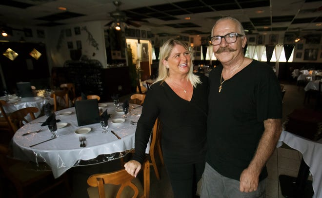 Deborah Tsaganis and her husband Vassilios are the owners of Pastabilities restaurant at 16541 San Carlos Boulevard in Fort Myers.