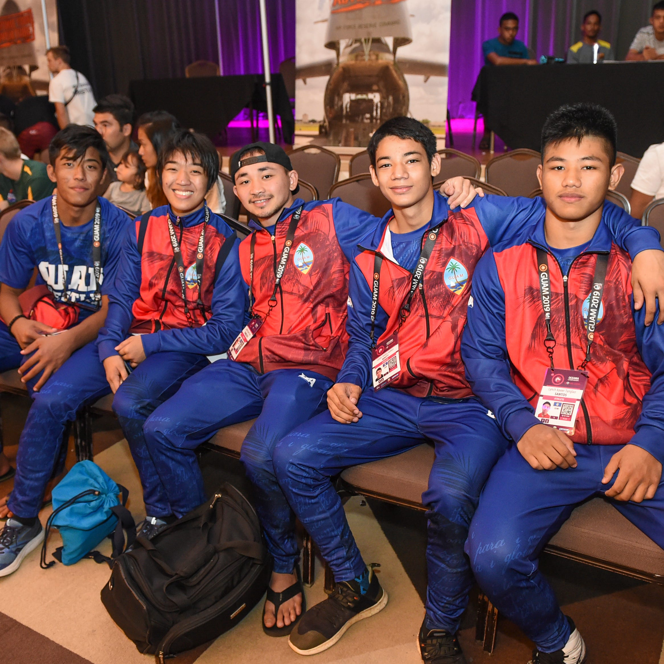 Guam's grapplers shine at Oceania championships