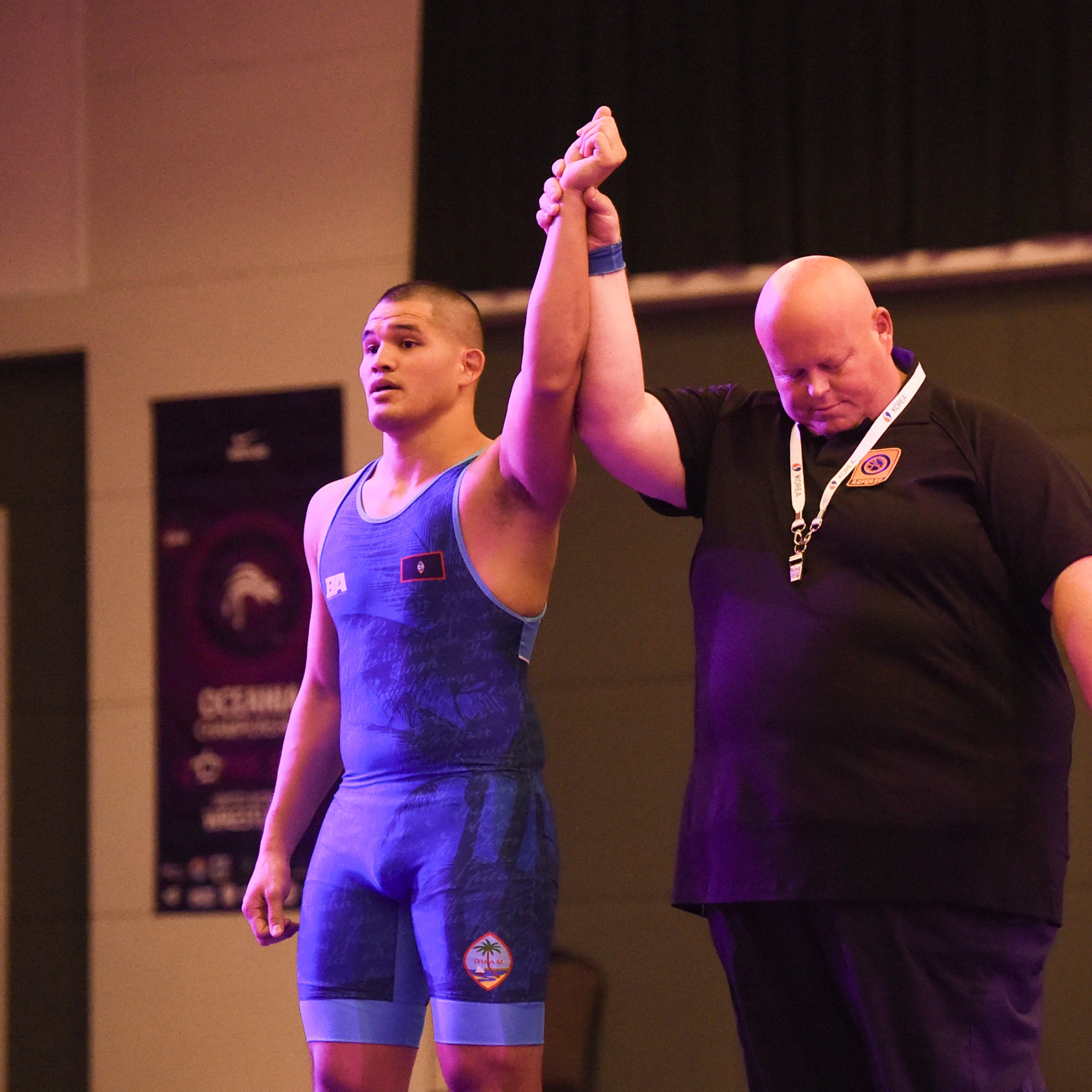 Mike Shinohara takes Greco gold at Oceania Wrestling