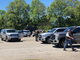Law enforcement officials from the Crockett County Sheriff's Department, Madison County Sheriff's Department, Alamo Police Department and Friendship Police Department were on scene at the initial staging site at Friendship Elementary School in response to an allegedly armed suspect barricaded in a Friendship residence Saturday at around 12:45 p.m.