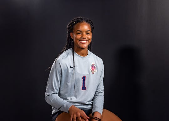 Lauryn Starwood --  Teurlings, Junior.   Favorite win of season: State championship vs. Vandebilt.  Favorite athlete: Neymar.  Biggest influence: My parents.  What actor/actress should play me in a movie: China Anne McClain.  Post-game meal: Crawfish.